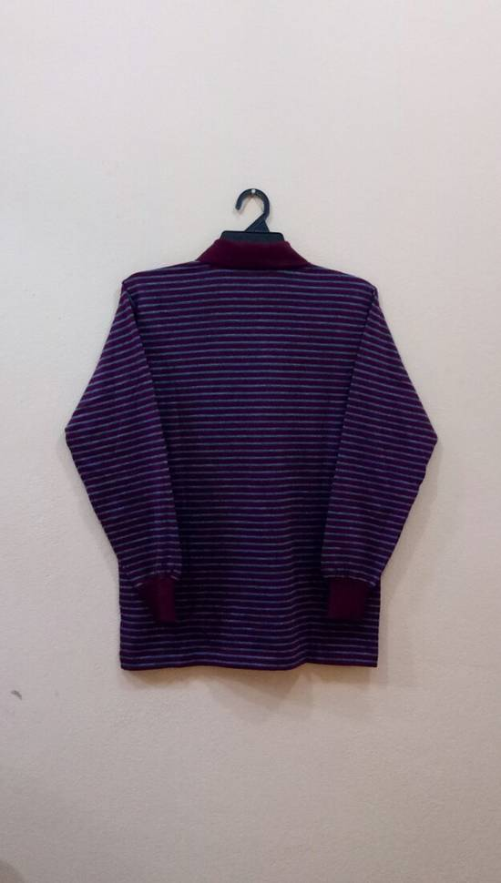 Givenchy Rare!! GIVENCHY long sleeve shirt polo shirt nice design stripe colour small size Size US S / EU 44-46 / 1 - 3