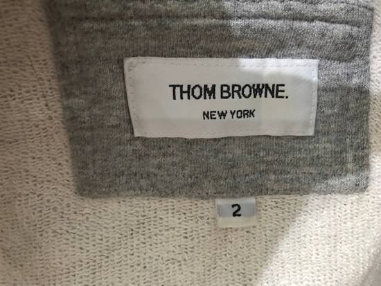 Thom Browne Hoodie Thome Browne color grey Authentic Not Versace, Fendi , Raf simons , Rick owens , Louis Vuitton , Gucci , vetements Size US M / EU 48-50 / 2 - 5