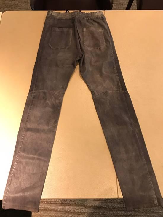 Balmain Balmain Leather Sweatpants / Leggings / Pants Size US 30 / EU 46 - 1