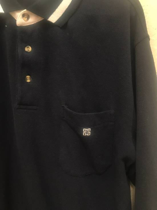 Givenchy *Vintage* Monsieur Givenchy Long Sleeve Polo Size US M / EU 48-50 / 2 - 2