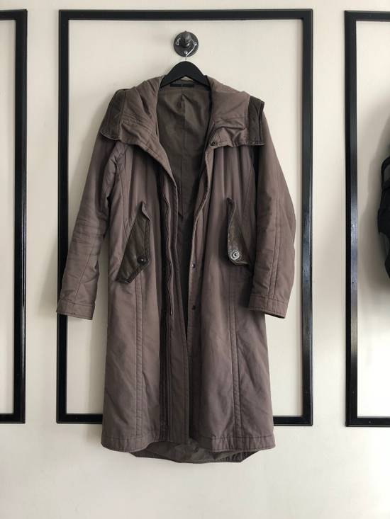 Julius Leather Trimmed Parka Size US M / EU 48-50 / 2