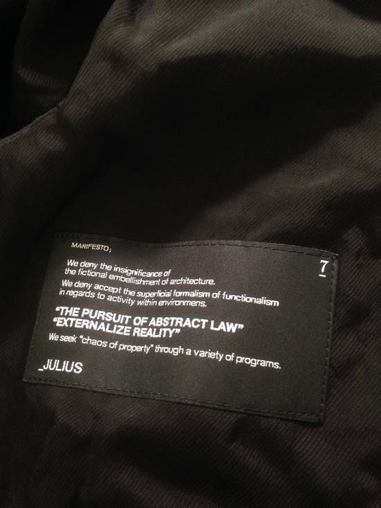 Julius *FINAL DROP* Julius 13SS vandalism: coated zipped up Hoodie [1] Size US S / EU 44-46 / 1 - 6