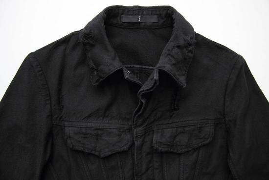 Julius JULIUS_7 COTTON NYLON DENIM DISTRESSED JACKET SIZE 2 Size US M / EU 48-50 / 2 - 2