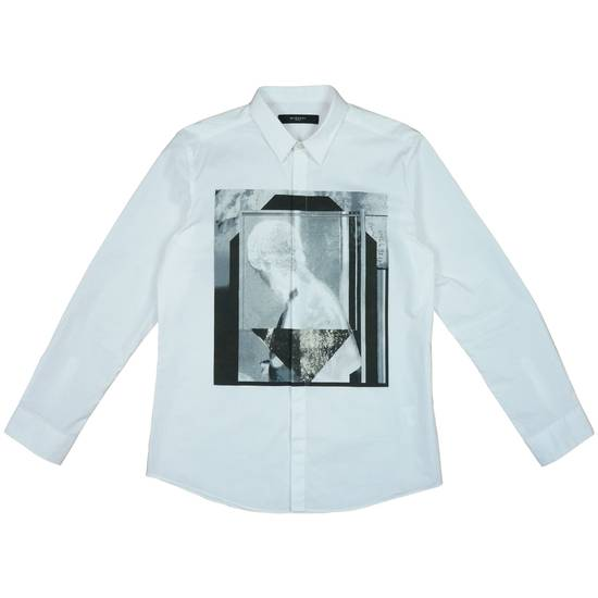Givenchy Givenchy Print Shirt White Size US L / EU 52-54 / 3