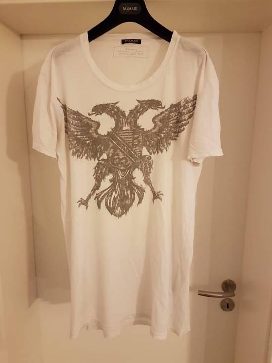 Balmain Eagle Emblem Shirt Size US L / EU 52-54 / 3