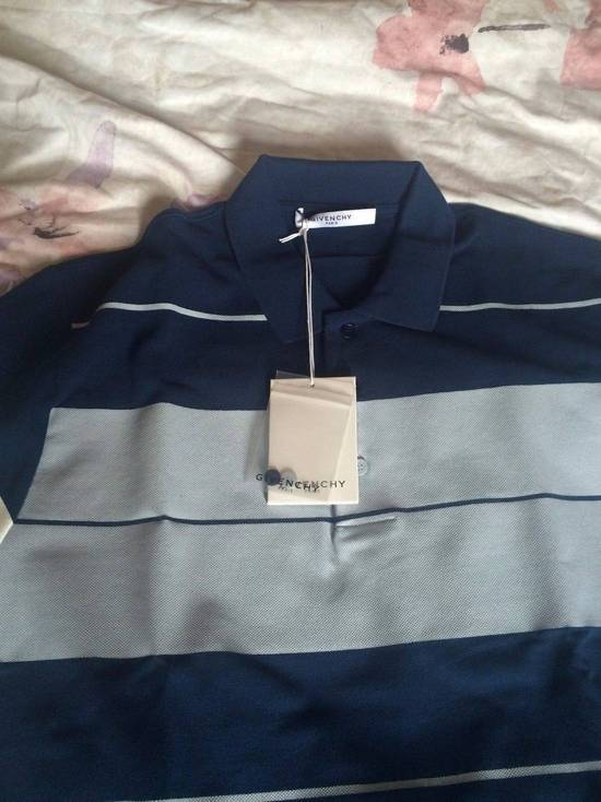 Givenchy Givenchy Authentic $750 Columbian Fit Striped Pique Polo Shirt Size XS Brand New Size US XS / EU 42 / 0 - 1