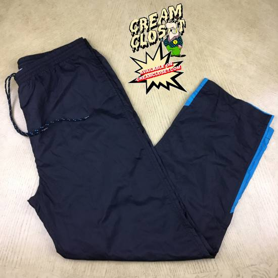 Givenchy VINTAGE GIVENCHY COLOR BLOCK TRACK PANTS IN BLACK AND TEAL Size US 32 / EU 48