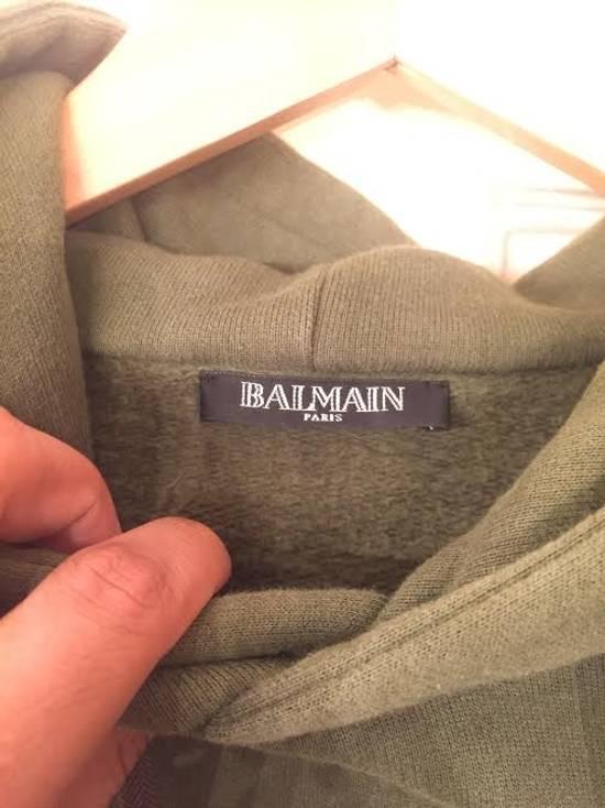 Balmain Balmain Patch Hoodie Size US XL / EU 56 / 4 - 2
