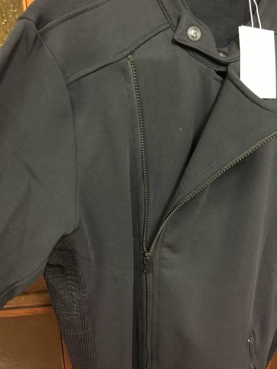 Balmain Cotton Moto Jacket (navy) Size US XL / EU 56 / 4 - 2