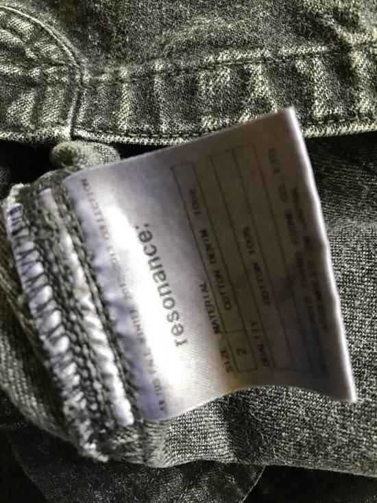 Julius AW12 faded denim jacket with zip. Size US M / EU 48-50 / 2 - 4