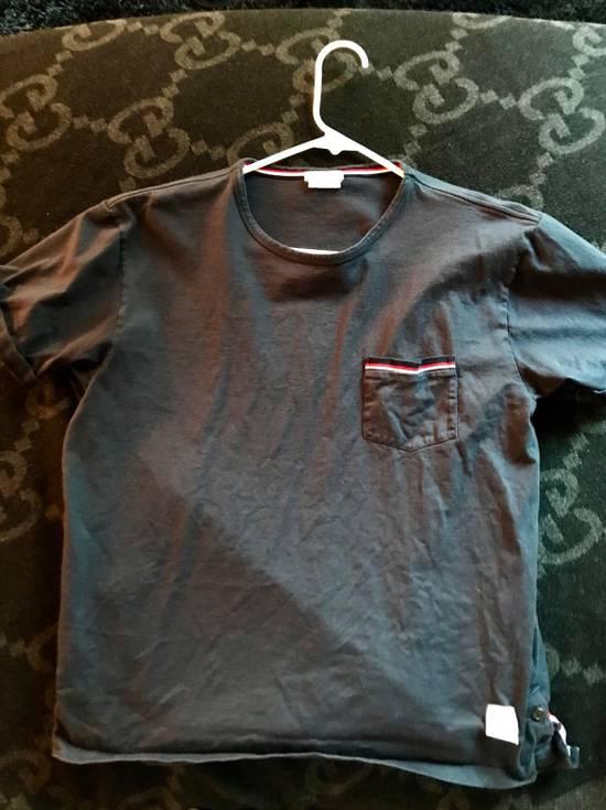 Thom Browne Navy T-Shirt Size 4 Size US L / EU 52-54 / 3 - 1