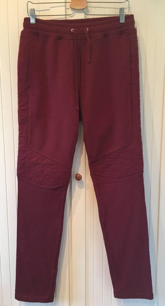 Balmain Houndstooth Embossed Jogging Sweatpants Size US 32 / EU 48