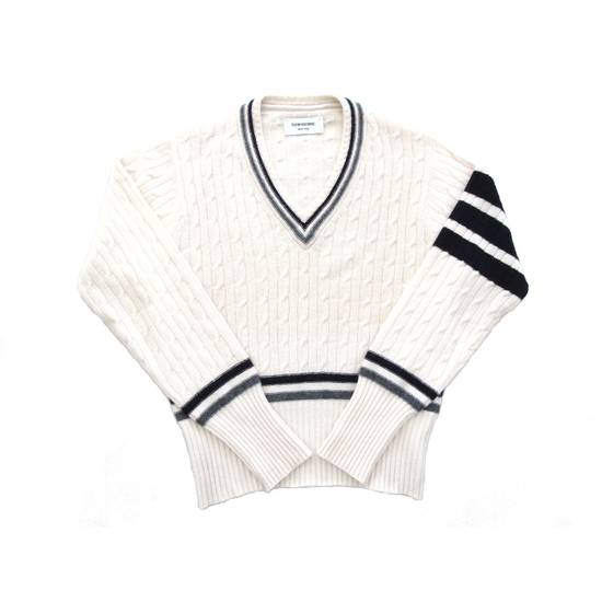 Thom Browne S/S 2005 Pure Cashmere Sweater For Bergdorf Goodman Size US M / EU 48-50 / 2