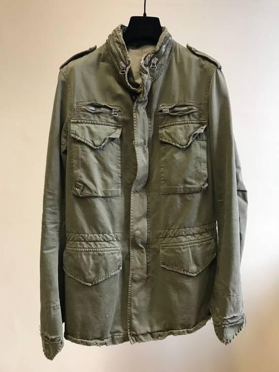 Balmain Decarnin Destroyed Saharian Jacket Size US M / EU 48-50 / 2