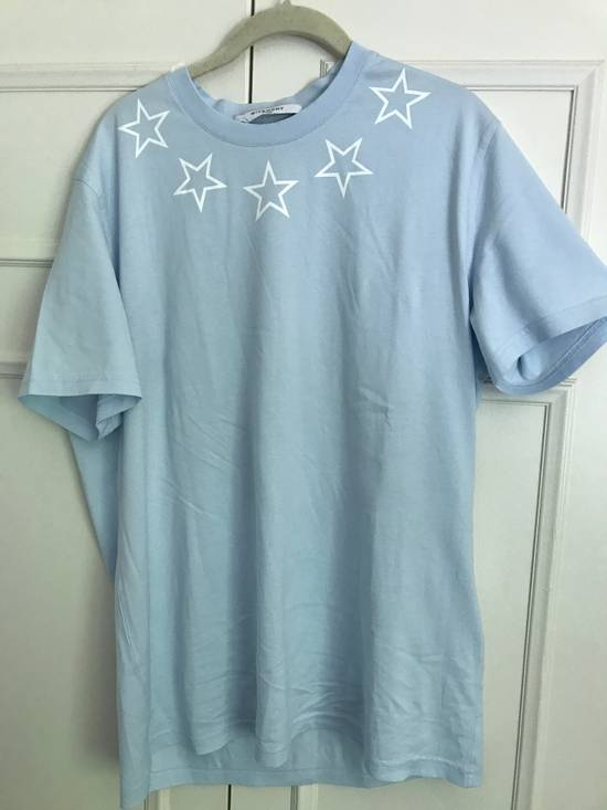 Givenchy Light Blue Star T shiirt Size US XL / EU 56 / 4