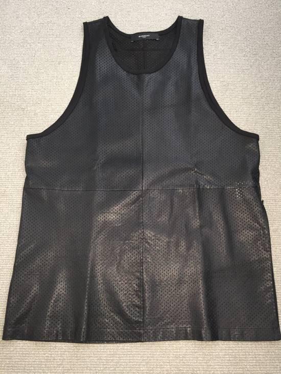 Givenchy Leather basketball jersey Size US L / EU 52-54 / 3 - 2