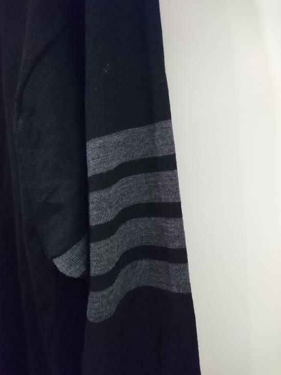 Thom Browne Black wool stripe knit, size 5 - RARE Size US L / EU 52-54 / 3 - 2