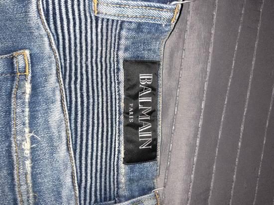 Balmain Balmain Distresses Biker Jeans Size US 31 - 5