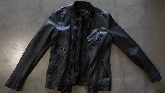 Julius Super rare JULIUS MID-WINTER 2011-2012 HALO MOTO leather jacket Size US L / EU 52-54 / 3 - 3