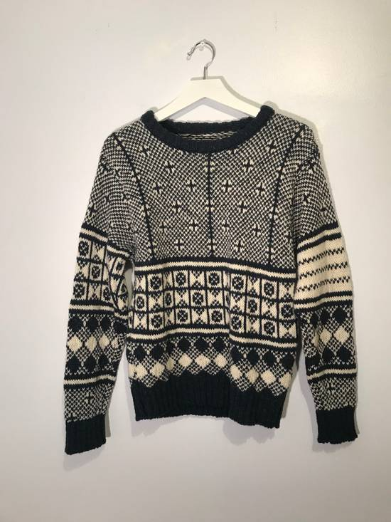 Thom Browne Jacquard-Knit Wool and Mohair-Blend Fairisle Sweater Size US M / EU 48-50 / 2