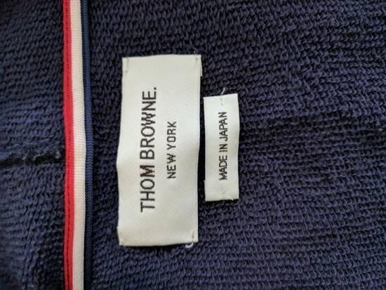 Thom Browne Navy Zip Hoodie Size US XS / EU 42 / 0 - 2