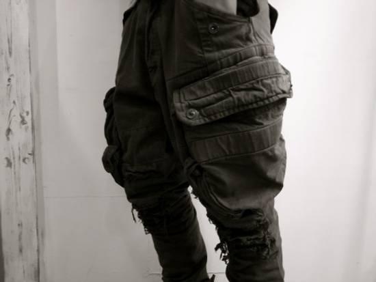 Julius Julius Distressed Gasmask Cargo Pants Size US 30 / EU 46 - 2