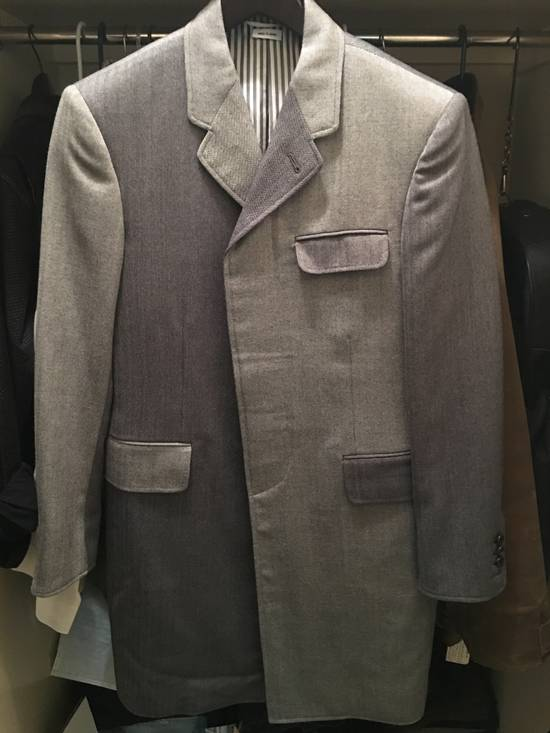Thom Browne High Arm Chesterfield - size 2 Size 38S - 4