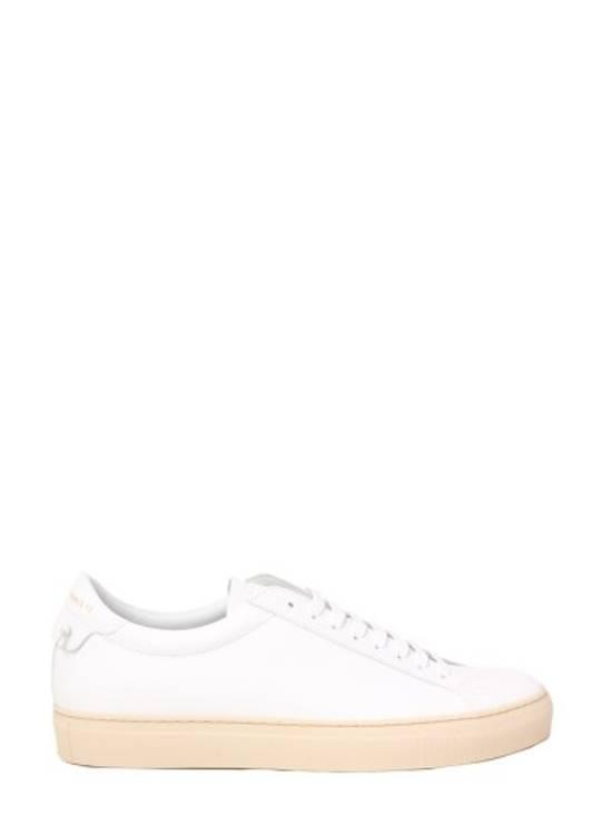 Givenchy Paris White Leather Sneakers Size US 12 / EU 45 - 2