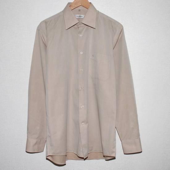 Balmain Vintage Balmain Paris Men's Longsleeve Button Shirt Beige Size M L 39 40 Cotton Size US M / EU 48-50 / 2 - 1