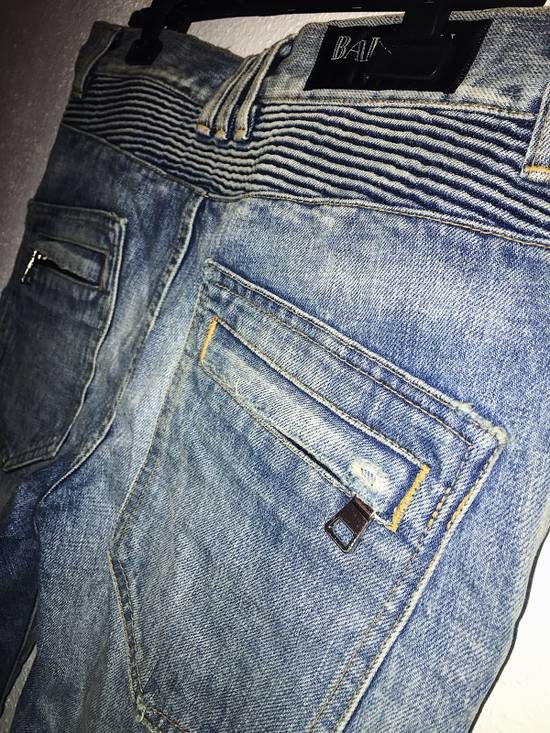 Balmain Biker Jeans Size US 32 / EU 48 - 2