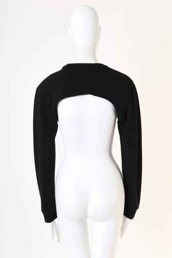 Givenchy GIVENCHY RICCARDO TISCI RT black crew neck cropped sweater long sleeves top XS Size US XS / EU 42 / 0 - 5