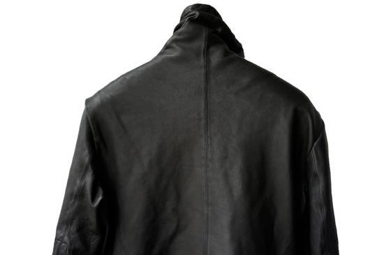 Julius JULIUS _7 ma high neck black lamb biker jacket slim fit Japan Size US S / EU 44-46 / 1 - 14