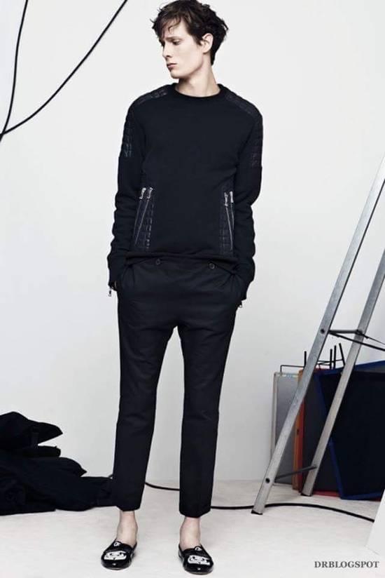 Balmain Balmain quilted leather and cotton sweatshirt Size US S / EU 44-46 / 1 - 4