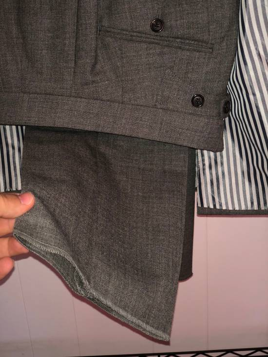 Thom Browne Classic Suit In 2 Ply Fresco Size 40R - 3