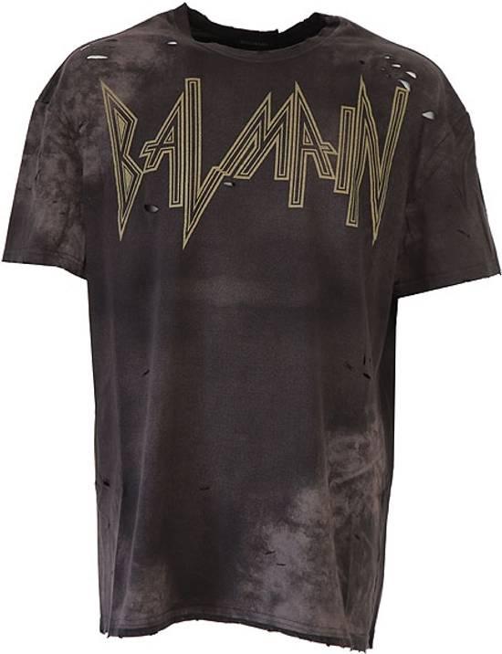 Balmain balmain oversized,distressed-t shirt Size US XL / EU 56 / 4