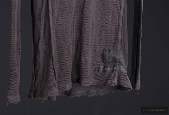 Julius = last drop = 2009SS mesh knit cotton hooded top Size US S / EU 44-46 / 1 - 8