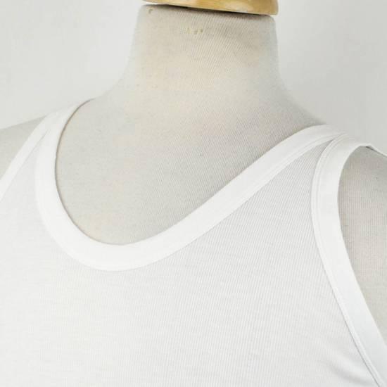 Julius 7 White Rayon Blend Long Ribbed Tank Top T-Shirt Size 4/L Size US L / EU 52-54 / 3 - 3