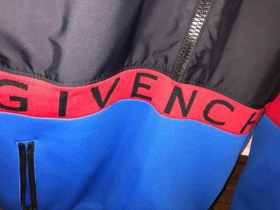 Givenchy GIVENCHY HALF ZIP LOGO BAND JACKET (BLUE/RED/BLACK) Size US XL / EU 56 / 4 - 7