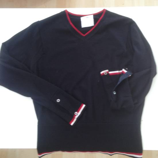 Thom Browne Thom Brown Brooks Brother Black Fleece Sweater Size 0 Size XS Size US XS / EU 42 / 0