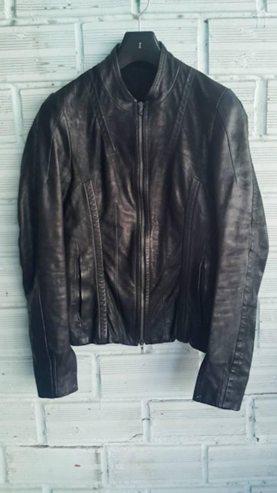Julius Black Calfskin Jacket SS12 Size US S / EU 44-46 / 1