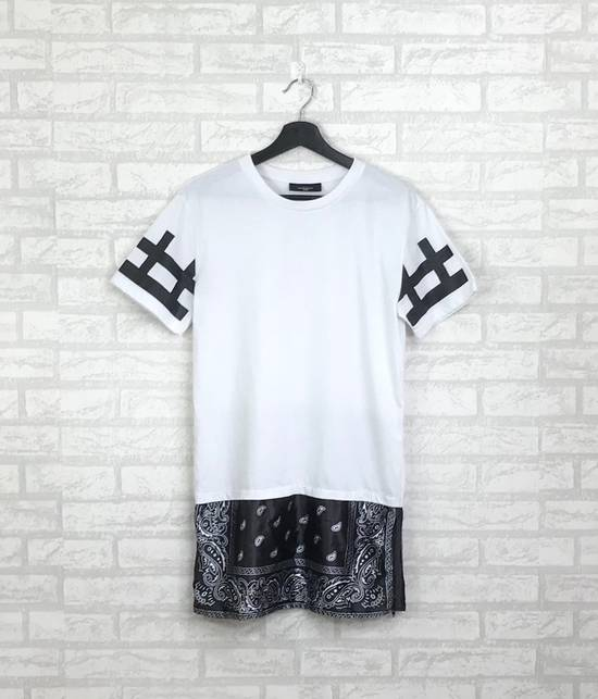 Givenchy Rare!!GIVENCHY Tshirt Desist Big Spell Out Bandana Design Medium Size White Colour (C4) Size US M / EU 48-50 / 2