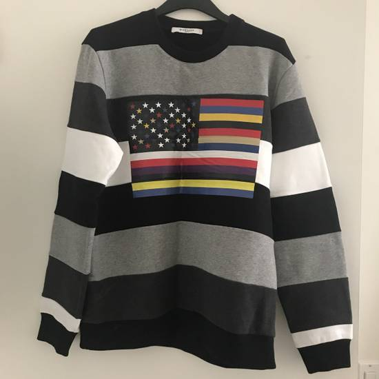 Givenchy Givenchy American Flag Print Stripe Sweater Size US L / EU 52-54 / 3