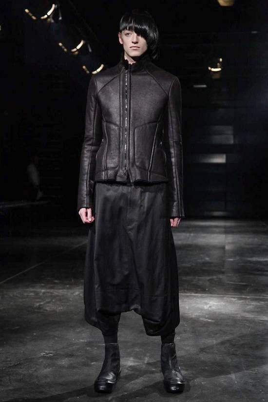Julius High Neck Shearling Jacket Size US S / EU 44-46 / 1 - 1