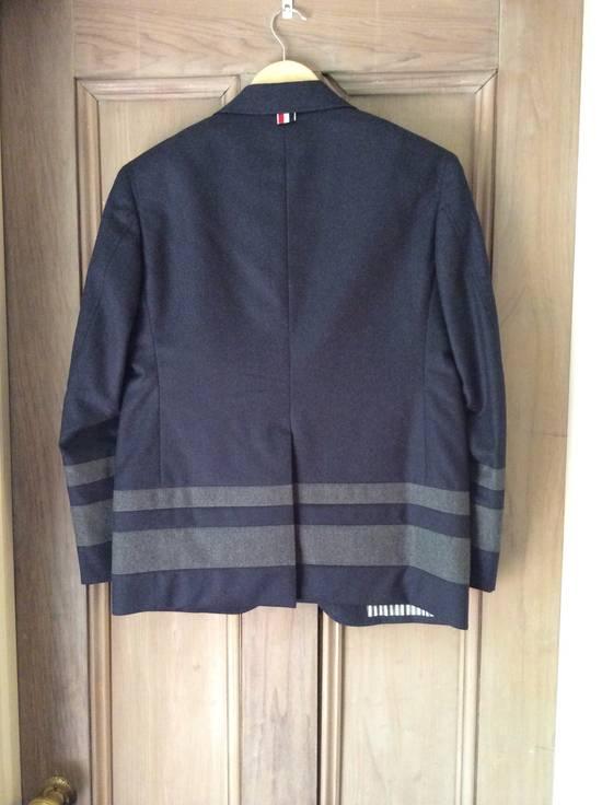Thom Browne Paneled Chapel Jacket- Flannel Size US S / EU 44-46 / 1 - 3
