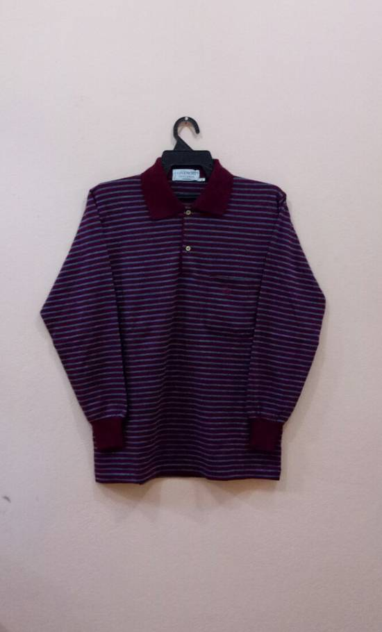 Givenchy Rare!! GIVENCHY long sleeve shirt polo shirt nice design stripe colour small size Size US S / EU 44-46 / 1