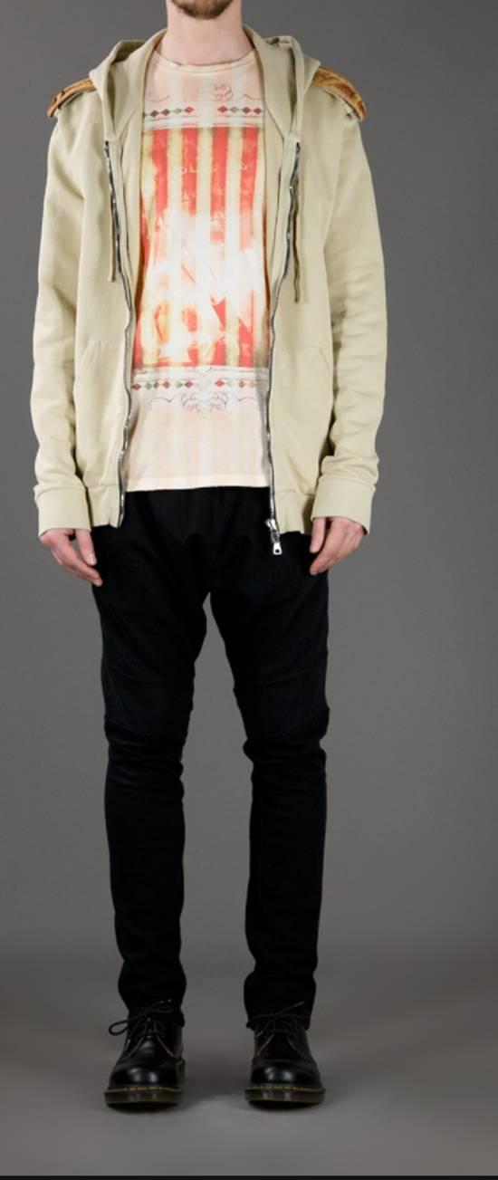 Balmain Balmain Beige Military Zipper Hoodie Size US M / EU 48-50 / 2 - 7