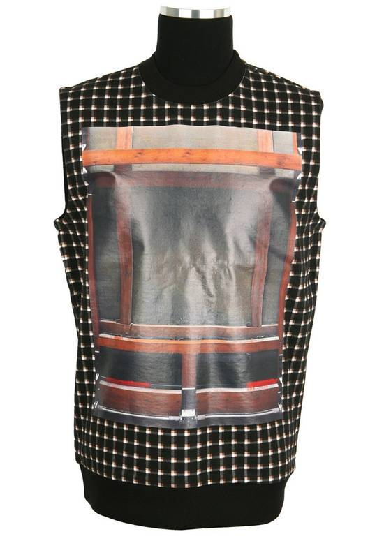 Givenchy $795 Givenchy Wooden Frame Rottweiler Sleeveless Sweater Vest T-shirt size M (Relaxed Fit) Size US M / EU 48-50 / 2 - 1
