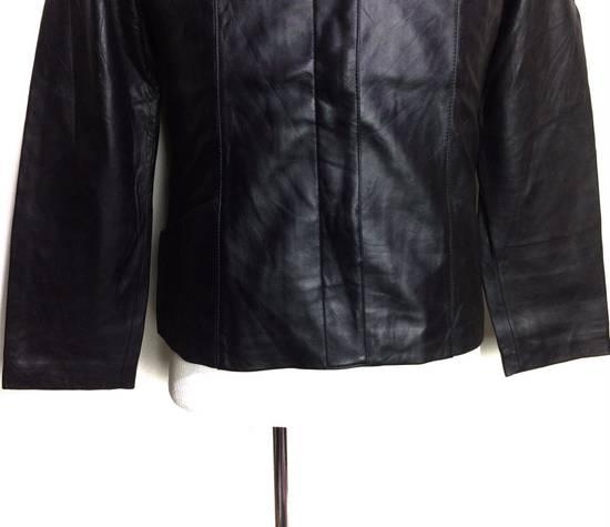 Balmain BALMAIN Paris Black Leather Biker Rockers Rockabilly Cafe Racer Jacket Size US M / EU 48-50 / 2 - 2