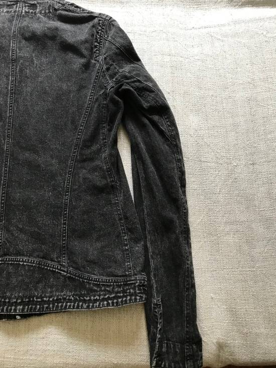 Julius AW12 faded denim jacket with zip. Size US M / EU 48-50 / 2 - 6
