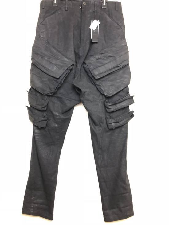 "Julius 2015 ""Prism"" Waxed Cargo Pants NEW Size US 36 / EU 52"